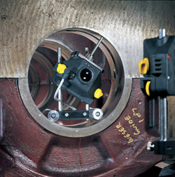 CENTRALIGN ULTRA STANDARD offers true bore center measurement, not just bore straightness.